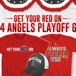 RT @AngelsTeamStore: Celebrate the Halos making it to the post season w/ official Angels playoff gear @AngelsTeamStore @angelstadium #LTBU http://t.co/djv6ZApzh1