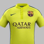 RT @Footballogue: [#Liga] OFFICIEL ! Le maillot Third du Barça ! http://t.co/HrpLv8ZfBS