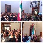 En Palacio de Gob. Aniversario de la Independencia de México, Vivan los héroes que nos dieron Patria y Libertad! http://t.co/MN0CK4Qvin