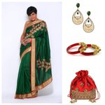 RT @mandiradesigns: New on the #blog: @mandybedi's styling advice for this green applique saree! http://t.co/lmwwQraX0z #fashion #styling h…