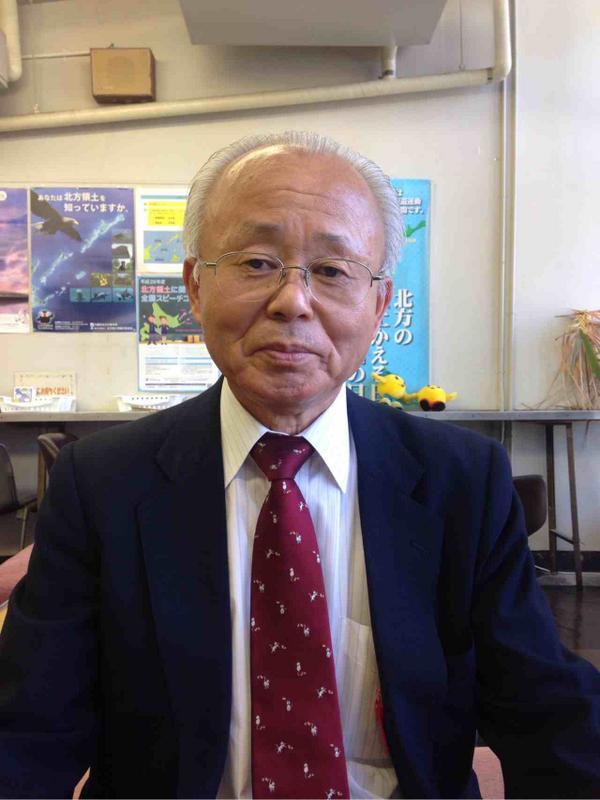 【速報】井戸川克隆・前双葉町長が10月9日告示、26日投開票の福島県知事選への立候補の意思を固めた。畠山の取材に答えた。本日15時から県政記者クラブで記者会見する。 http://t.co/8nB8J7wY3S