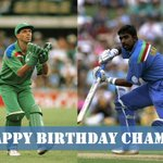 #OnThisDay - The birth of Dave Richardson in 1959, and Asanka Gurusinha in 1966. (Those lovely 92 World Cup jerseys!)