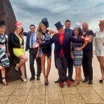 RT @sarah_czarnuch: Giddy Up! Geelong Cup Stable of Stars! #GRCGetLucky @GeelongRaceClub @DarrynLyons @kylieoliver @RebeccaShare ✌️???? http://t.co/Q4KND1IgzD