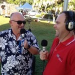 "James Morrison on @ABCFarNorth live from Fogarty Park. Says #TropicalJam is ""all about fun"" & certainly feels like it http://t.co/bM8oACtgHo"