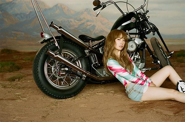 バイクとYUKIちゃん