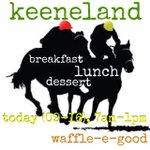 RT @WaffleEGood: #keeneland #keenelandsales #lexky #sharethelex #bbn #funtimes #yum #waffletime #waffles http://t.co/BIRV9X9kEa