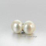 Large White Pearl Earrings http://t.co/vXqHPG3XbB #etsy #jewelryonetsy #pearlearrings http://t.co/j015yvmQMD