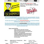 RT @WinkleElectric: Join us for this Winkle Electric #Ethernet Seminar. #Networking #Youngstown http://t.co/gHPrwVOMzS