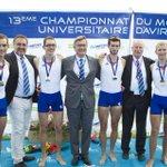 Bravo à Vincent Cavard étudiant SHN @grenoble_em champion du monde par équipe d#aviron Prochaine étape : les JO ? http://t.co/Y6OVz2MbO8