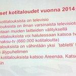 RT @ElinaKoivumaki: Facts about Finnish households, media usage and equipment by Heikki Rotko. #Mainontapaiva http://t.co/F2sKfP6vWQ