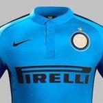 OFFICIEL ! Le nouveau maillot Third de lInter Milan ! http://t.co/tDTm5ax5lw