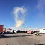 Lisää paloautoja on saapunut paikalle.#tampere http://t.co/W2cOGfjv9K