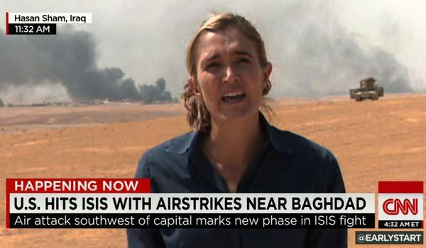 BREAKING: On the offense against ISIS.  @AMCoren on front-lines.  @EarlyStart http://t.co/Cns8mYz1Sl http://t.co/kvi9i8wx39