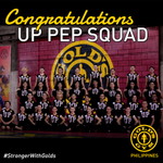 Congratulations, UP Pep Squad, for winning 1st Runner-up in the #UAAP77 Cheerdance Competition! #strongerwithgolds http://t.co/QVbbzOyA4s