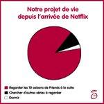 Depuis que Netflix est arrivé, nos journées ont un peu changé #Netflix http://t.co/5lalZzp7rg