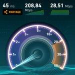 RT @bouyguestelecom: Bravo à notre technicien, il dépasse la barre des 200 Mb/s en 4G+ mais à #Paris cette fois! #4GBouygues #speedtest http://t.co/JAc79uYcNV