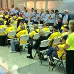RT @PhotogDSlavey: Over 70 veterans and their chaperones gather at CVG for the latest Honor Flight to DC. @zac_pitts live @WCPO next. http://t.co/8JOWpvgvZO