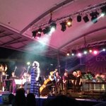 Powerful #homecoming for @anuchristine singing #oralhistory w. @QSOrchestra #Cairns #TropicalJam http://t.co/EdE6RIzLuS