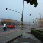 """#LaFotoDelMomento """"@johanamvegag: Neblina en la ciudad bonita @Bucaramanga ???? http://t.co/XVK9WDGNtx"""""""