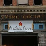Fireside Pizza opens in citys oldest fire station http://t.co/m5YluC6lFb http://t.co/oYLSPE6KrI