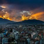 RT @OMGFacts: Sunset over Nepal. http://t.co/I4ofai8V5f