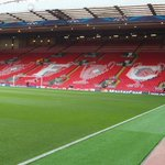 A special mosaic ready for use on the Kop this evening #LFC http://t.co/jqWnQtlKi3