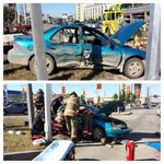 RT @SaskatoonFire: #mvc on Circle Dr overpass @ Idylwyld. 1 transported to hosp. #extrication needed. #yxefire still on scene #drivesafe http://t.co/MnlRFtAYLD