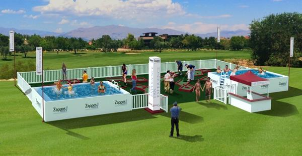 . @zappos Fan Experience at this year's tournament will feature the first public swimming pool to be at a @PGATOUR. http://t.co/g5IHEJ3u9i
