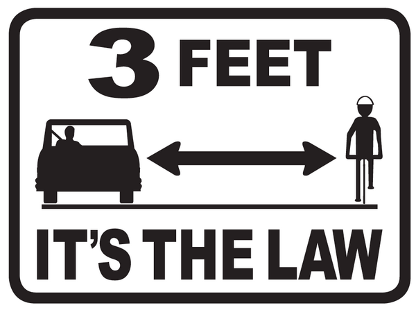 "California's ""3 Feet for Safety"" law goes in effect TODAY on Sept 16. Thank you @CalBike! https://t.co/ngAVP7cwcG http://t.co/W6y1z5n0Th"