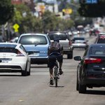 RT @LANow: Californias 3-foot buffer zone for cyclists takes effect today: http://t.co/jZro9x4FaY http://t.co/5BNFom73oQ