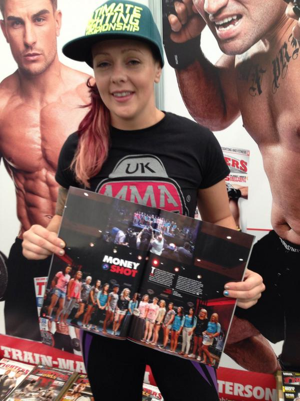 Follow us & RT this tweet for the chance to win a copy of Fighters Only magazine signed by #TUF20's @DRkneevil! http://t.co/hvMMgmQOFz