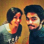 RT @gvprakash: After 4 years (unperai-angaditheru) recording the queen of voices @shreyaghoshal for 2 love songs #darling #komban http://t.…