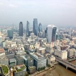 RT @MPSIslington: This is #London MT: @MPSinthesky misty view of #City of #London this afternoon, temperatures set to rise further yet! http://t.co/0ymd4PUjHw