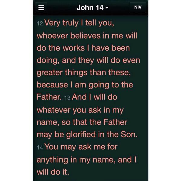 These words jumped off the page to me this morning. #letfaitharise John 14. http://t.co/x6Hz1E4jXW