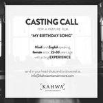 Casting Call for #MyBirthdaySong
