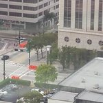View from my Window: Prepping for POTUS. In #Tampa today & tomorrow. Tampa St from Kennedy to Whiting closed this pm. http://t.co/SotaRl6hWH