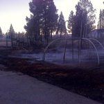 One of the structures thats a damaged at the #BolesFire was Weed Elementary. http://t.co/Vfw0eE4m5s