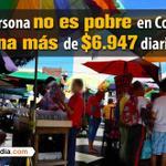 ¿Está de acuerdo con que una persona no es pobre en Colombia si gana más de $6.947 diarios? http://t.co/dSGi7Wzv3Z http://t.co/3qaMwRz9gL