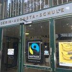Die KAS: 1. #FairTrade Gymnasium in #köln http://t.co/0lQIGBeeT1