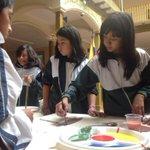 #SemanadelaDemocracia se vive con alegría, imaginación y creatividad de niños y niñas en @CNELoja @JuanPabloPozoB http://t.co/PCH4LOzHK3