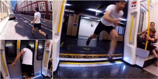 Man gets off Tube at Mansion House, runs to the next station and catches the same train http://t.co/BXkLkMTLQ2 http://t.co/G89ChMyJXR