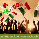 RT @SolyMarCancun1: Viva Mexico!! reserva con el 50% de descuento http://t.co/W8qXWFaG0I http://t.co/B8cfJ8tIyY