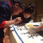 Niños pintan con alegría lo que para ellos significa la #DemocraciaEc @cnegobec @JuanPabloPozoB @dagonzalezp http://t.co/B7iArQFT0t