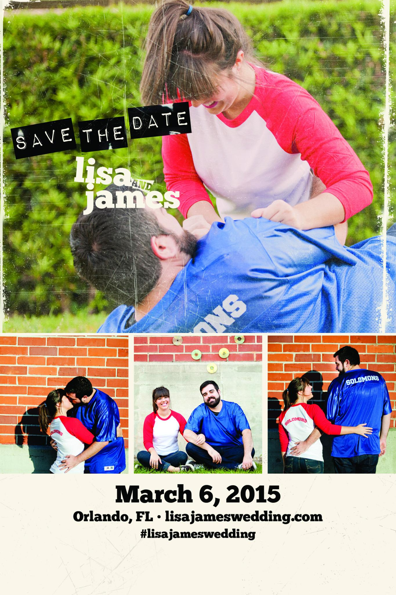 RT @XChadballX: coolest save the date invitations! RT @SavesTheJames: @XChadballX my fiance and I made these for our wedding. http://t.co/m?