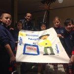 Resultado de la creatividad de los niños en #ColoresDeLaDemocracia @JuanPabloPozoB @dagonzalezp @cnegobec http://t.co/Jr8ZkDNDTs