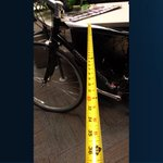 Bicycle buffer zone goes into effect today. Give 3 feet when passing or pay the penalty! http://t.co/Eg3XXSYGhY http://t.co/1nE4STItsW