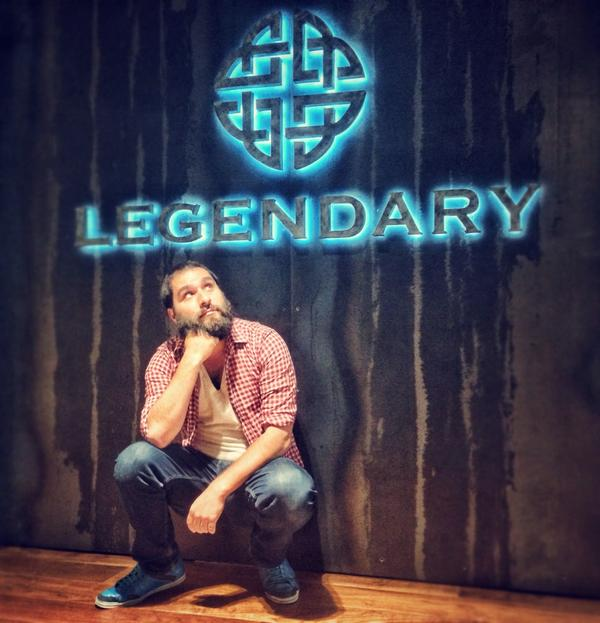 Honored to join the @Legendary family. Brace for Skull Island!! http://t.co/wufi6ejNwE