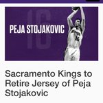 RT @momoragan: Its official. @SacramentoKings will retire Pejas jersey http://t.co/ePB0a22gHT