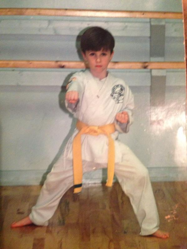 Happy Birthday to son @traviswall! He's 27 today here is a picture when he was 6 taking Tae kwon do Isn't he so cute! http://t.co/ZGlalrPaip