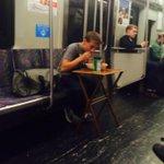 RT @DeadairDennis: Hes using a salad fork to eat his entree MT @MBTATransitPD: #MBTA Etiquette: lots of violations. Where to begin? https://t.co/u8pPZkI0nq